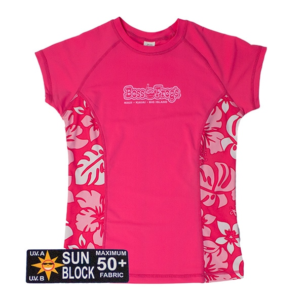 Boss Frog's Pink Rash Guard