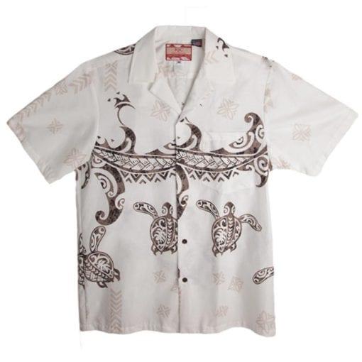 Aloha Shirt Cream