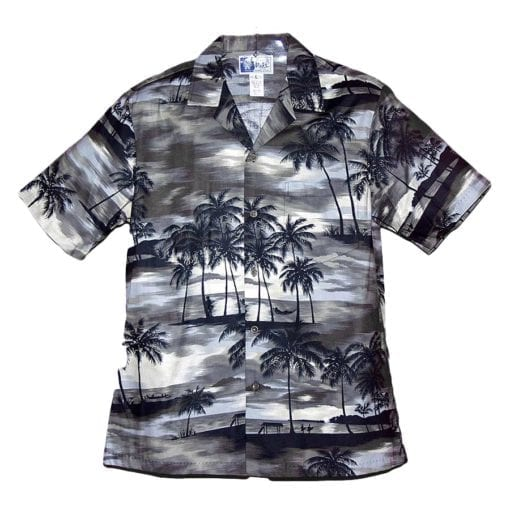 Palm Silhouette Aloha Shirt