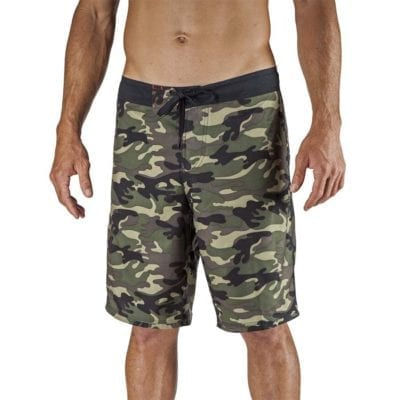 Maui Rippers Camo Board Shorts | Boss Frog's Beach Wear for Men