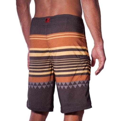 HONOLUA BOARD SHORT STRIPE BACK