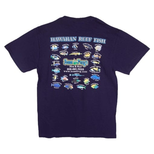 Hawaiian Reef T-Shirt | Beach Wear | Boss Frog's Dive Shop