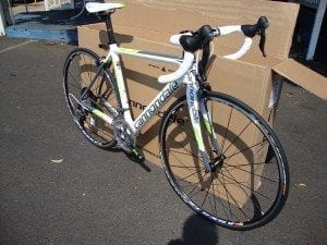 Boss Frog's - Cannondale Supersix with Ultegra Components