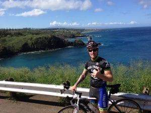 Boss Frog's Chris Kasper on Maui Road Bike