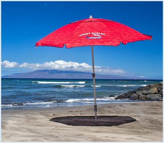 Maui beach umbrella rental