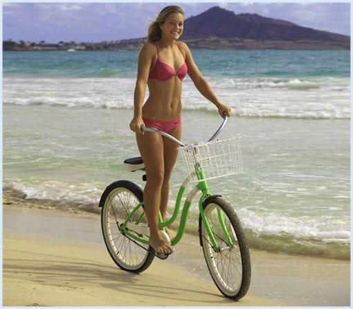 Maui bike rentals - beach cruiser