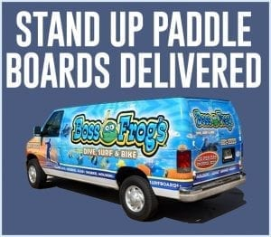 Boss Frog's Maui Stand Up Paddle Board Rentals