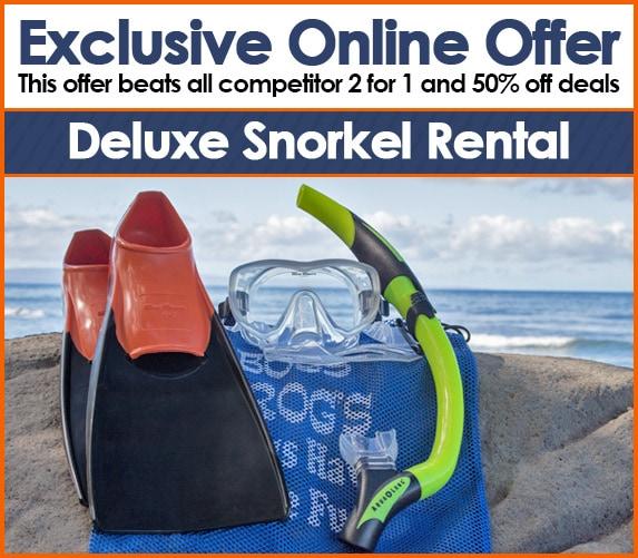 Maui snorkel set rentals - boss frog's online exclusive offer