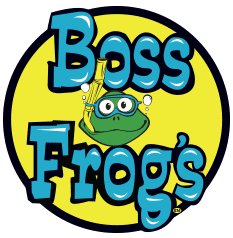 Boss Frog's original logo