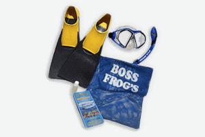 Boss Frog's Maui snorkel set rentals