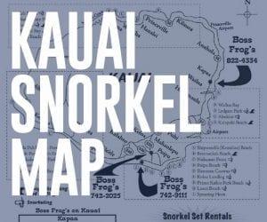 Kauai Snorkel Map - Downlaod