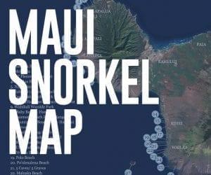 Maui Snorkel Map - Download