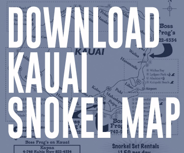Download Kauai Snorkel Map