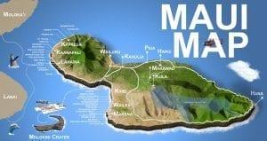 Maui Island Map