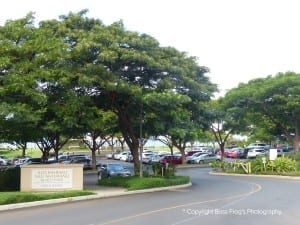 Airport Beach Parking Lot Maui Hawaii