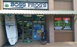 Boss Frog's Kahana Snorkel Rentals Store