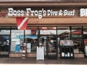 North Kihei Snorkeling - Boss Frog's store