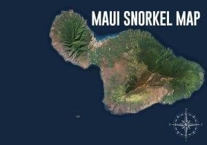 Maui Snorkel Map Header Image