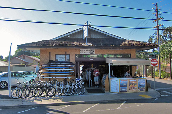 maui bike shop. Lahaina Front Street Bike Shop Boss Frog's