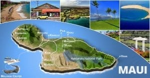 Maui Map Cover Graphic