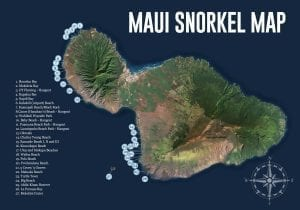 Maui Snorkel Map