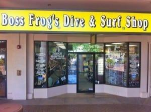 Napili Snorkel Rentals Boss Frog's Store