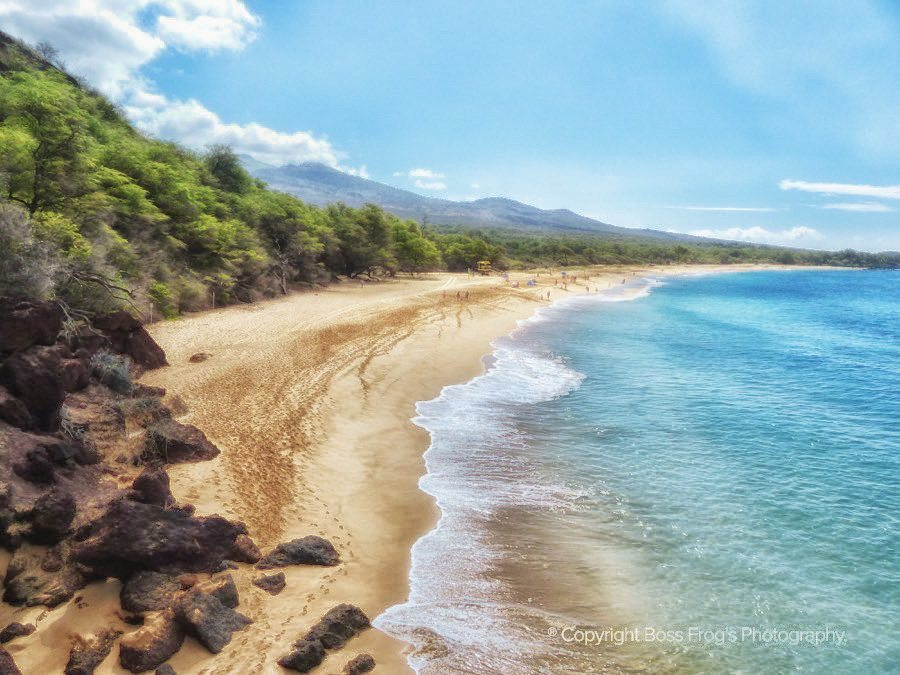 Maui Beach Guide - Big Beach / Makena