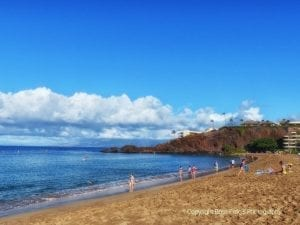 Black Rock Beach Kaanapali Maui