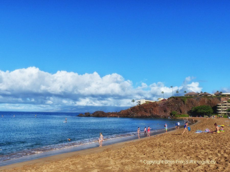 Maui Beach Guide - Kaanapali Black Rock Beach