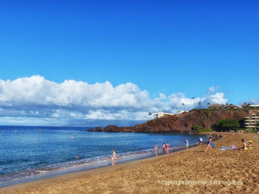 Maui Beach Guide - Kaanapali Black Rock Beach