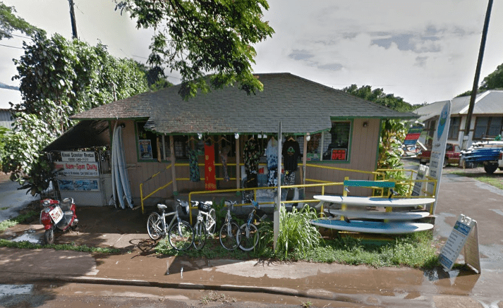 Boss Frog's Koloa Snorkel Rentals Store Front