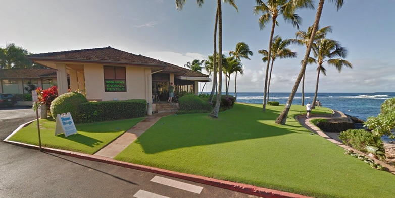 Boss Frog's PoiPu Snorkel Rentals Store Front