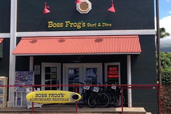 Ka'anapali Boss Frog's Store
