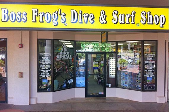 Napili Boss Frog's Store
