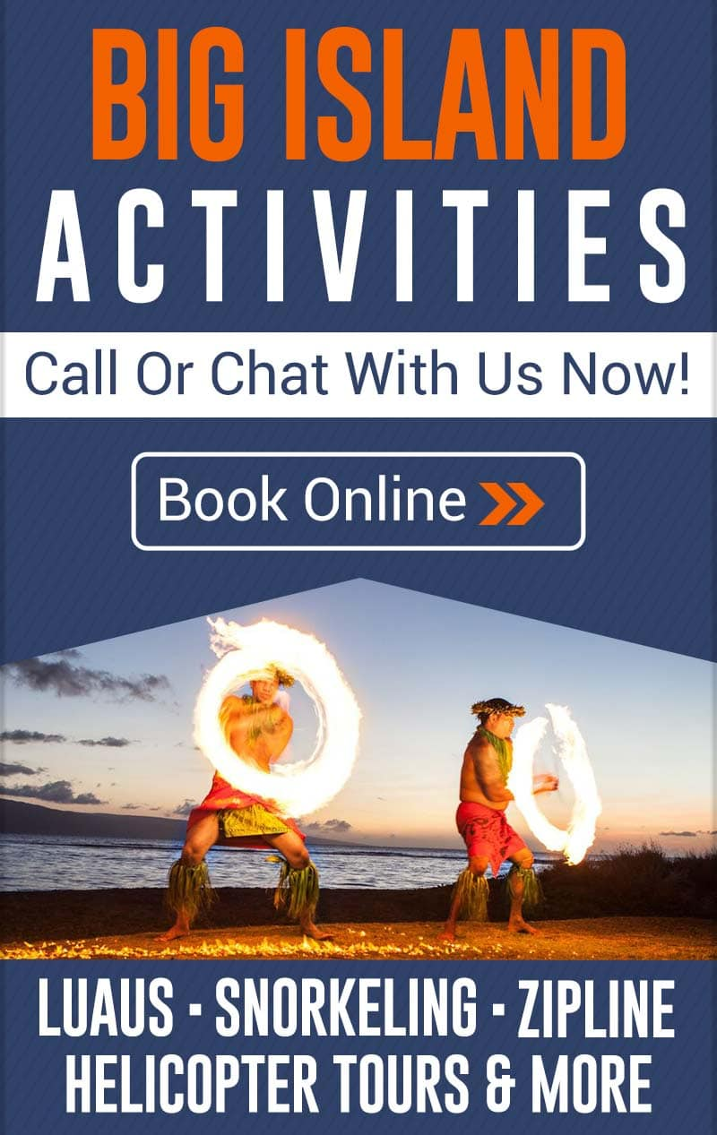 Big Island Discount Activities - Luau, Snorkeling, Zipline Specials