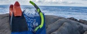 EZ Breathe Snorkel Rental Set