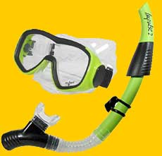 EZ Breathe snorkel set