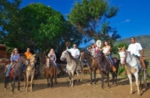 Maui horseback riding - Lahaina Stables