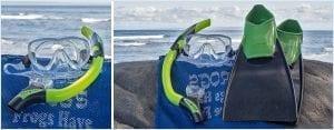 Optical snorkel set