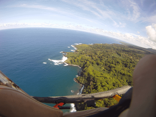 Doors off island helicopter tour - boss frog Maui