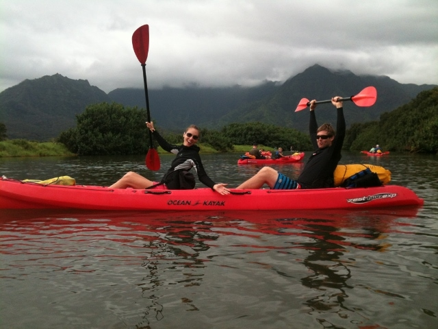 Hanalei kauai kayak tour