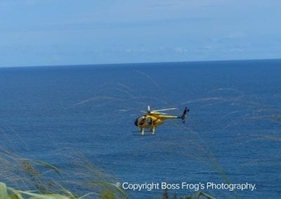 Don Shearer Airlifting the Coastal Trash