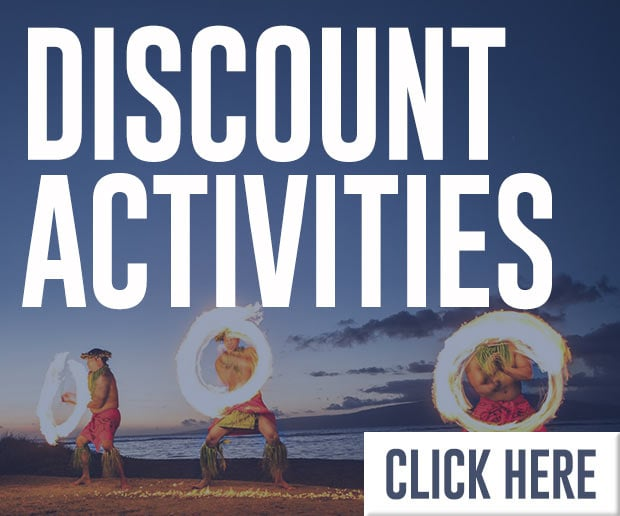 Discount Activities - Luau, Snorkeling, Zipline Specials
