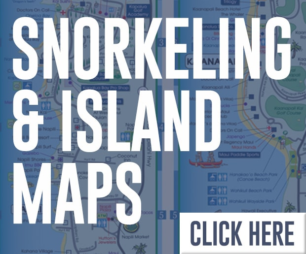 Maui Snorkeling and Island Maps