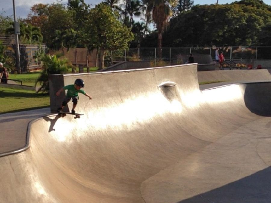 Lahaina Skate Park – One of many things to do on Maui