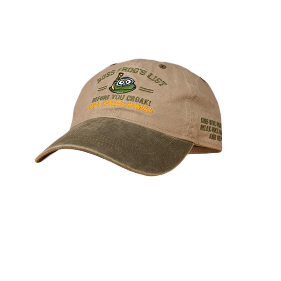 Boss Frog's Hat Before You Croak