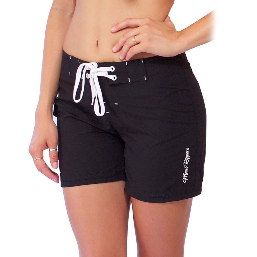 Soft Microfiber Boardshorts Black