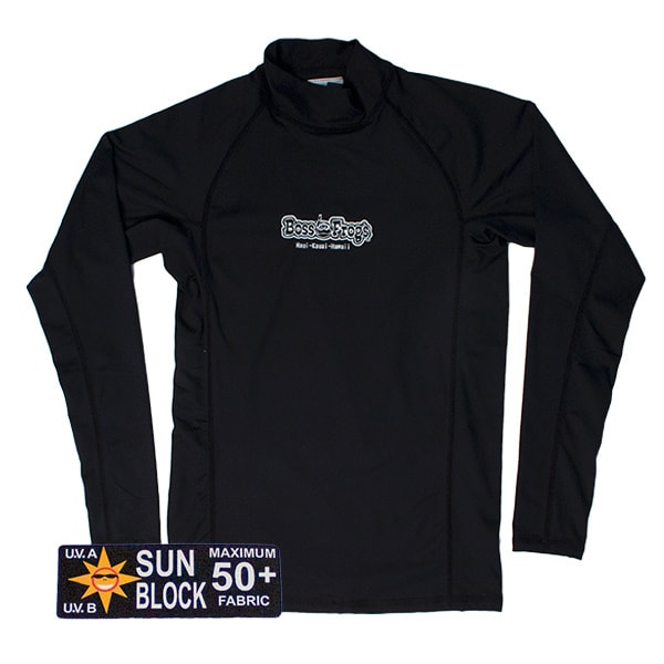 Rash Guard Black Long Sleeve