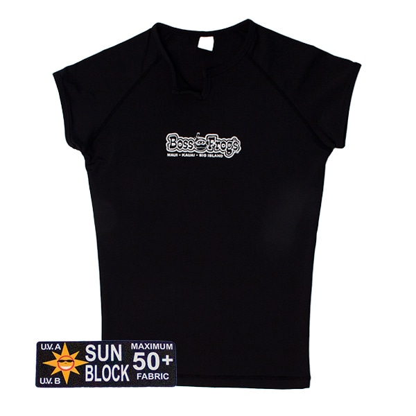 Rash Guard Black No Sleeve