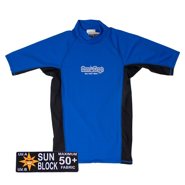 Rash Guard Blue Black